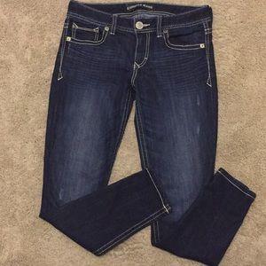 NWOT Express Stella Stretch Skinny Low Jeans, 4S